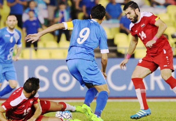 مباراة سوريا واوزبكستان الودية موعد المباراة والقنوات الناقلة