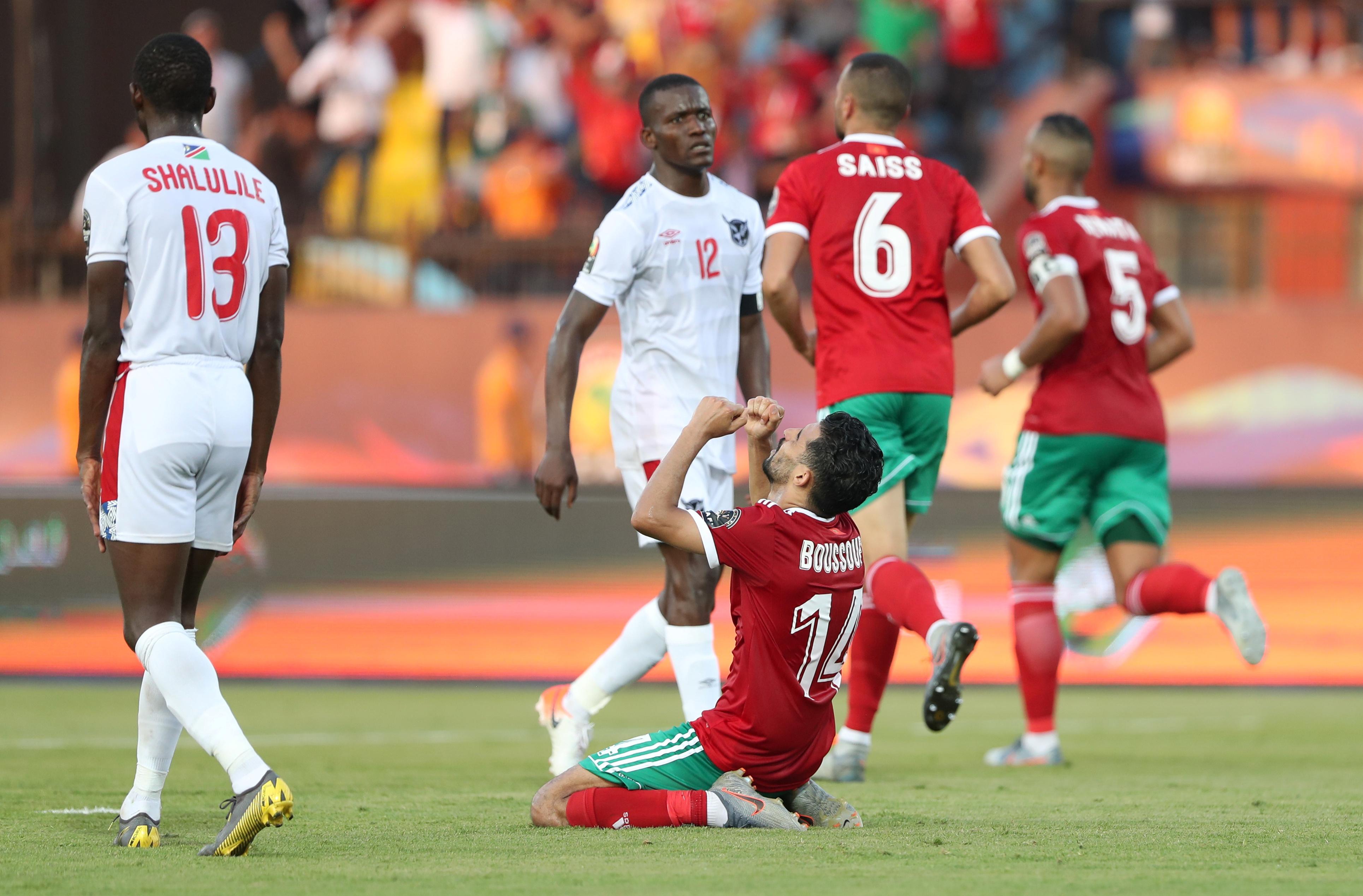 النيران الصديقة تقود المغرب لفوز قاتل على ناميبيا
