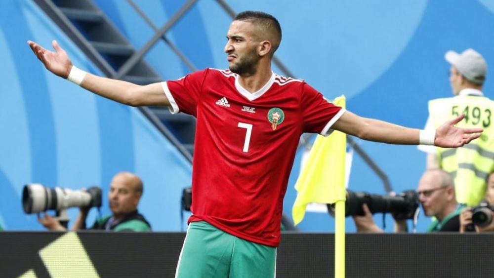 رينار ينتظر الكثير من زياش مع المغرب في كأس الأمم