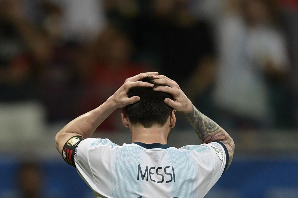 ميسي عقب مباراة كولومبيا: سنحتاج لبعض الوقت لتقبل الهزيمة