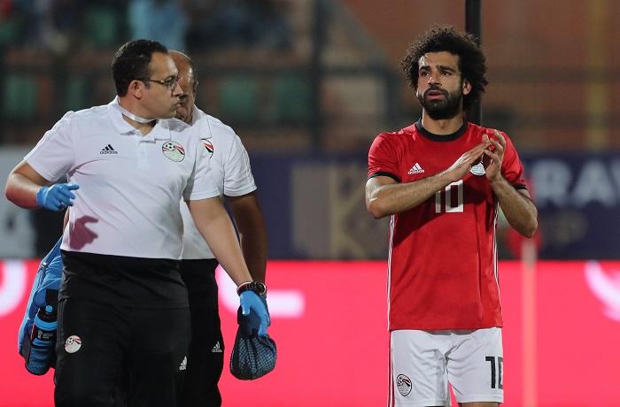 مدرب كينيا  يأسف  للاعبيه بسبب غياب محمد صلاح