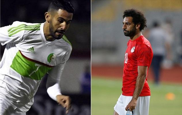 مدرب الجزائر يرفض المقارنة بين تألق محرز وهدوء صلاح