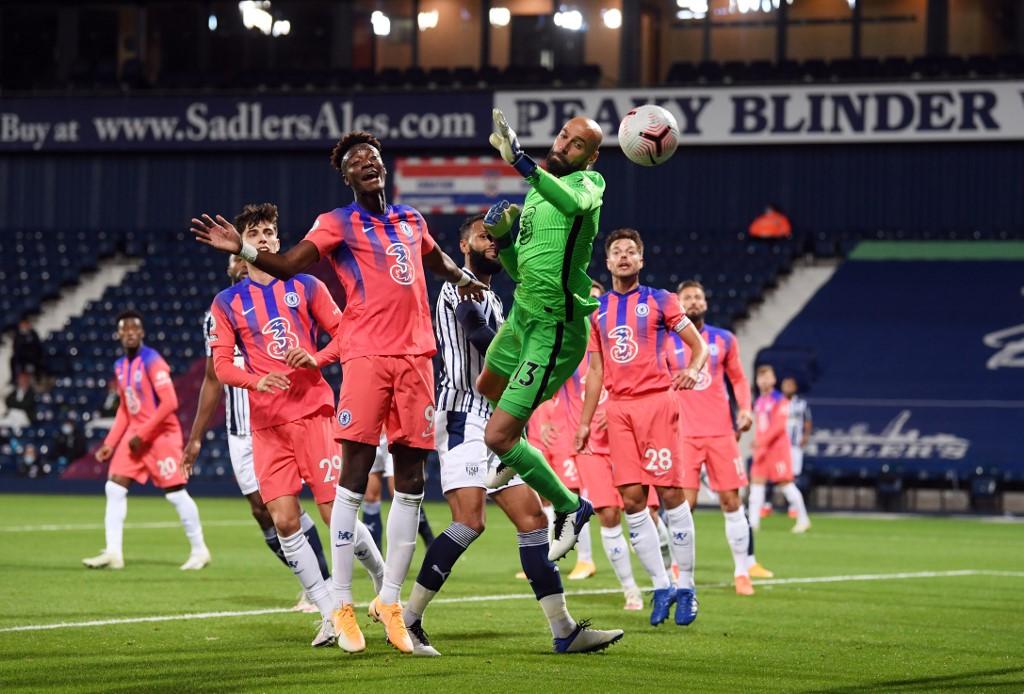 انتعش تشيلسي بعد أن سجل ثلاثة أهداف وتعادل لوست بروميتش ألبيون